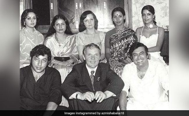 Amjad Khan To Zeenat Aman: Count The Stars In Shabana Azmi's 'Iconic' Throwback
