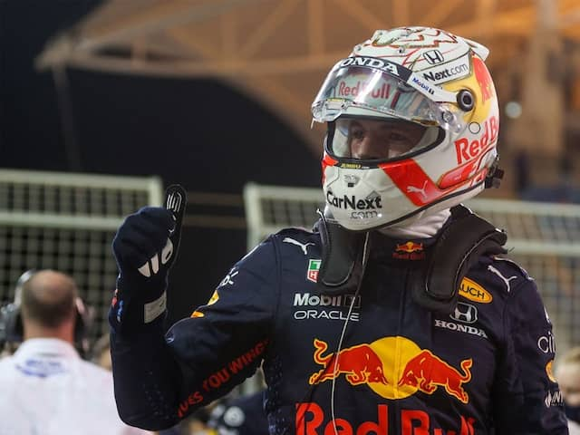 Max Verstappen Beats Lewis Hamilton To Pole At Season-Opening Bahrain GP