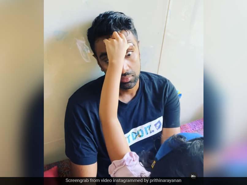 Watch: Ravichandran Ashwin Treated To Some