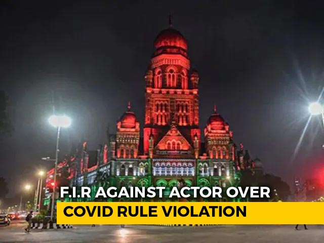 "Video : ""No Compromise..."": FIR Against Bollywood Actor For Covid Rule Violation"