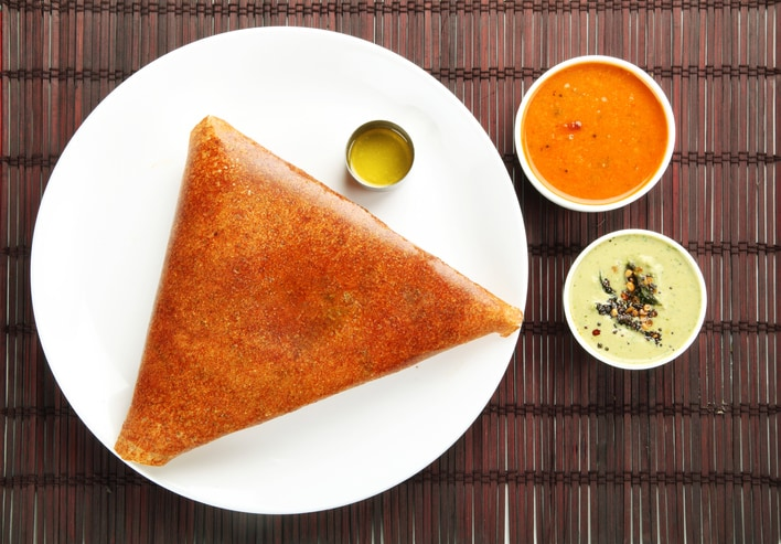 Don't Let Diabetes Come In The Way Of Your Love For Dosa; Try This Bajra Dosa Recipe