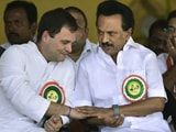 "Video : ""We Will Win Big"": DMK, Congress Seal Alliance Deal In Tamil Nadu"