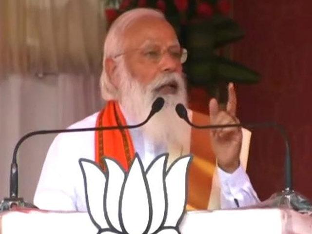"Video : ""Match-Fixing"": PM Modi Attacks Left, Congress In Kerala"
