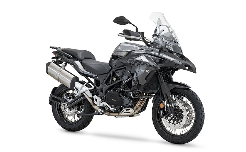 The Benelli TRK 502X is the adventure-spec version and will be sold alongside the TRK 502