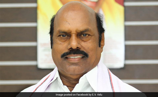 DMK Leader EV Velu's Properties Searched By Tax Officials For 2nd Day