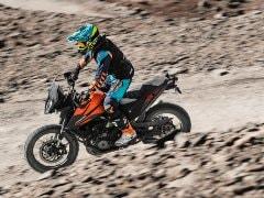Ashish Raorane Sets World's Highest Hill Climb Record Riding KTM 390 Adventure