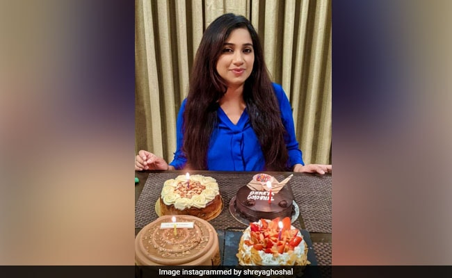 Here's How Mom-To-Be Shreya Ghoshal Celebrated Her Birthday - NDTV