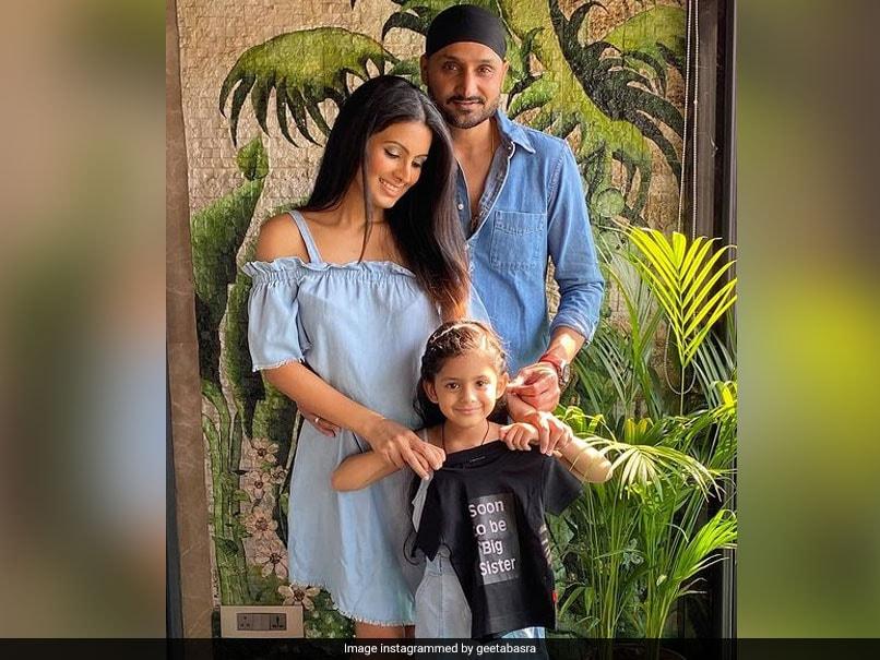 Harbhajan Singh, Geeta Basra Set To Welcome Second Child In July - NDTVSports.com