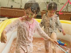 A Very Happy Holi From Taimur And Inaaya. See How They Celebrated The Festival