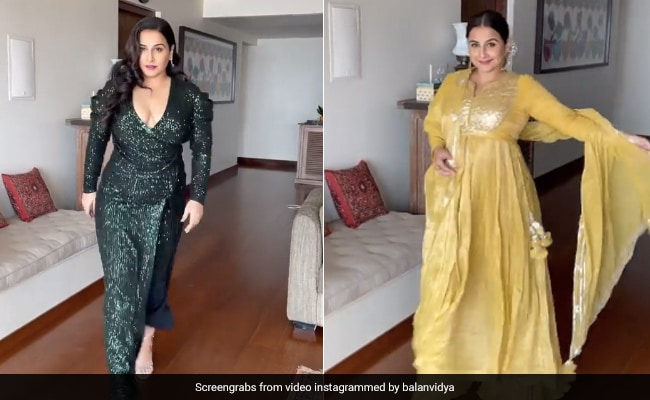 This Sassy Video Is Vidya Balan's Response To Those Who Say She 'Only Wears Indian' Outfits