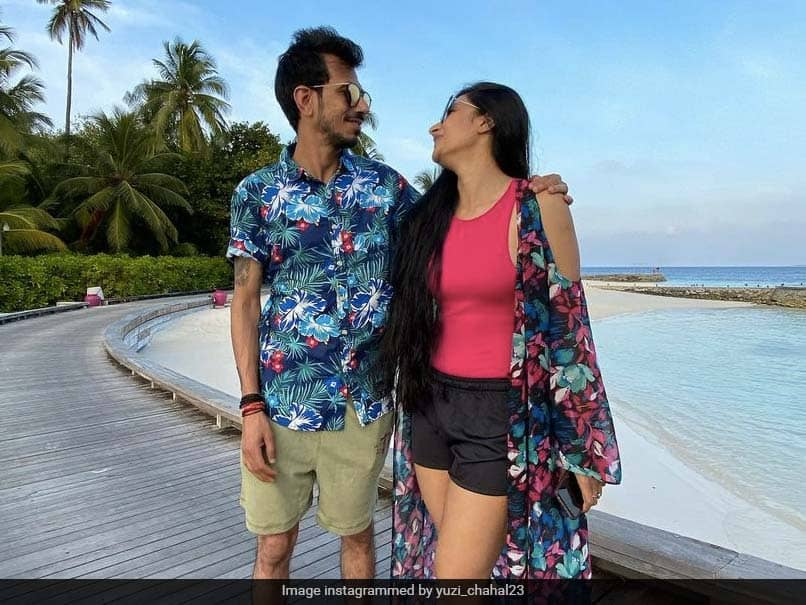 Yuzvendra Chahal, Dhanashree Verma Post Stunning Pictures While On Vacation In Maldives. See Pics