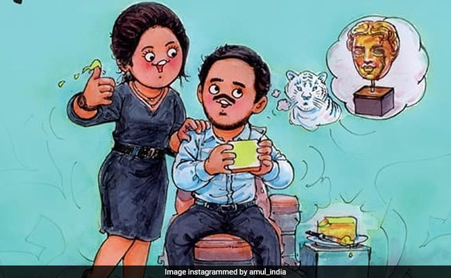 BAFTA Nominee Adarsh Gourav Gets An Utterly, Butterly Shout Out From Amul - NDTV