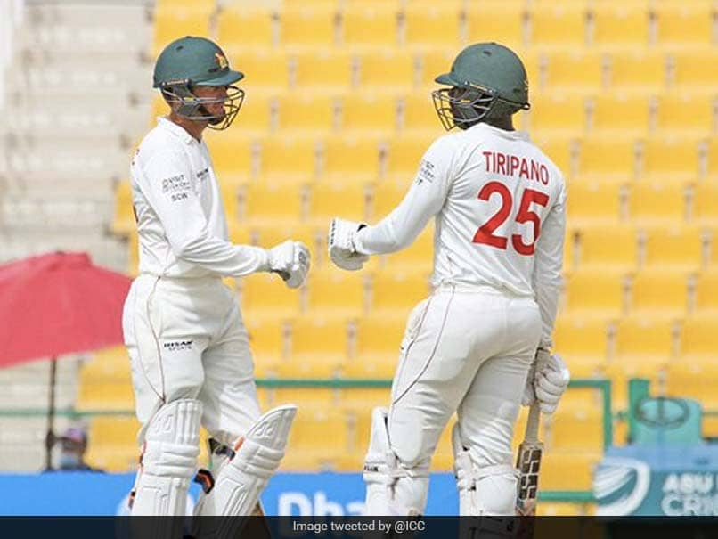 Afghanistan vs Zimbabwe, 2nd Test: Sean Williams Century Delays Afghanistans Push For Win On Day 4