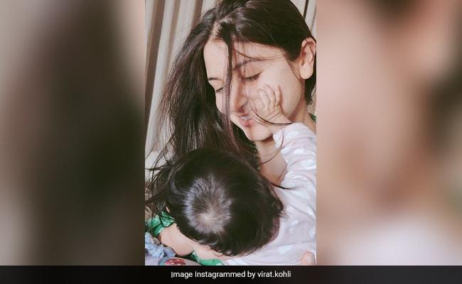 Women's Day 2021: Anushka Sharma And Baby Vamika In A Million-Dollar Pic Shared By Virat Kohli