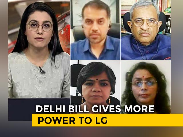Video : Delhi To Be Run By Centre?