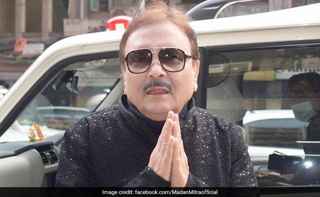 Trinamool Leader Madan Mitra Covid Positive, Rushed To Kolkata Hospital