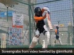 Watch: Virat Kohli Gives Fans Sneak Peek Into Training Session Ahead Of 4th Test