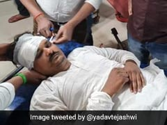 """Bihar MLA """"Manhandled"""" By Cops, Carried Out Of Assembly On Stretcher"""