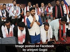 Lurinjyoti Gogoi's Party Announces 1st List Of Candidates For Assam Assembly Polls