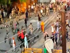 Crowd Carrying Swords Attacks Cops At Maharashtra Gurudwara, 4 Injured