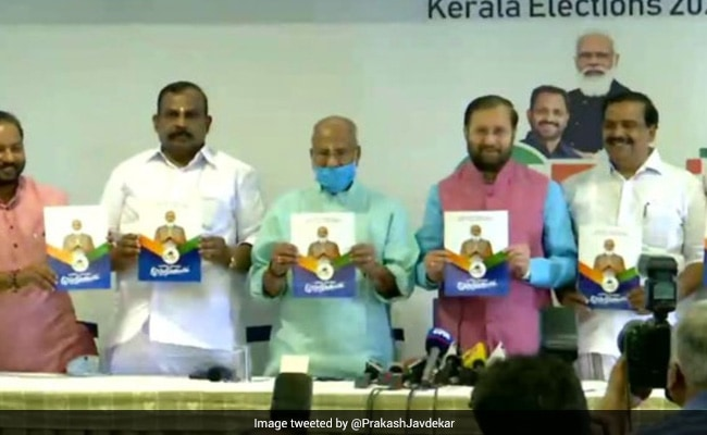 Law Against 'Love Jihad', Promise Of Jobs In BJP's Kerala Poll Manifesto