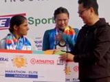 Video : Kiren Rijiju Felicitates Winners Of Delhi Marathon 2021