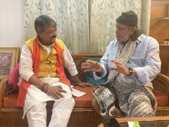 West Bengal Assembly Election 2021: Actor Mithun Chakraborty's Meet With BJP Leader Ahead Of PM Bengal Rally