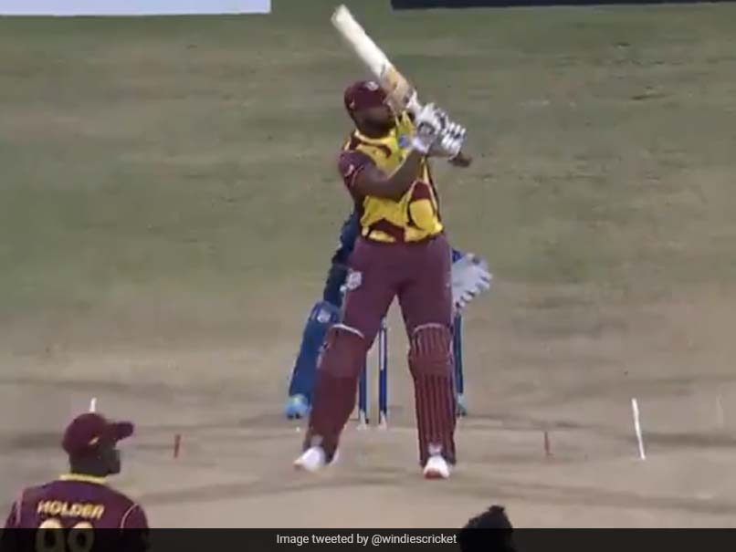 West Indies vs Sri Lanka: Kieron Pollard's 6 Sixes In An Over Off Sri Lankan Right After His Hat-Trick. Watch