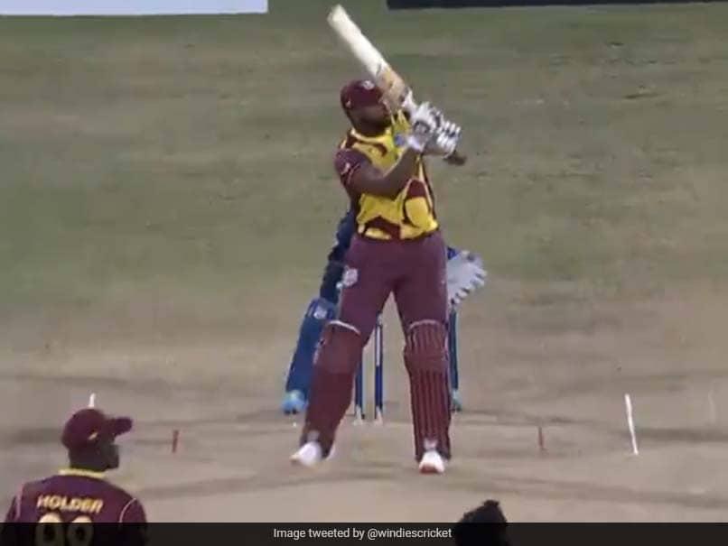 Wi vs Sl 1st T20I: Kieron Pollard hits six sixes in an over, includes himself in yuvraj Singh club, VIDEO