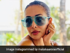 In Tinted Sunglasses And An Off-Shoulder Top, Malaika Arora Is Summer Ready