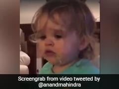 This Funny Baby Video Changed Businessman Anand Mahindra's Mind About Ordering Japanese Food