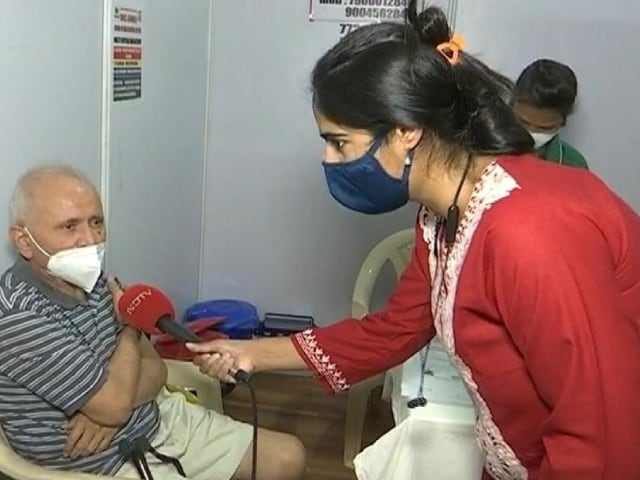 Video : Phase 2 Vaccination Begins In Mumbai