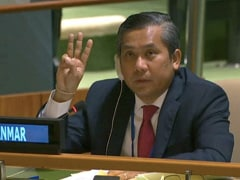 Myanmar Army Pick For UN Envoy Quits Amid Diplomatic Power Struggle