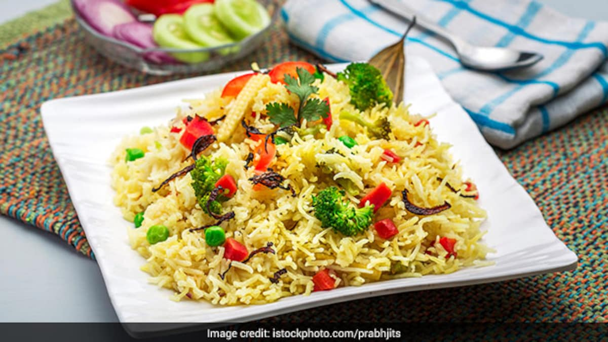 Spring Special: This Satrangi Biryani Recipe Is A Flavourful Burst Of Colours That You Shouldn't Miss