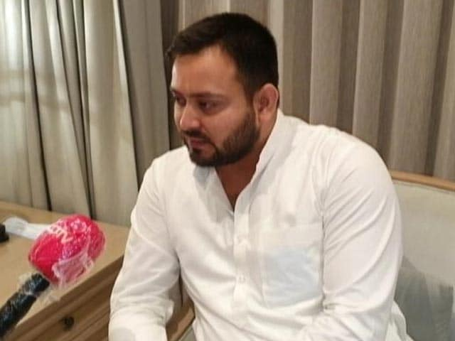 "Video : ""<i>Baraat</i> Has Reached But Where's The Groom?"" Tejashwi Yadav's Dig At BJP"