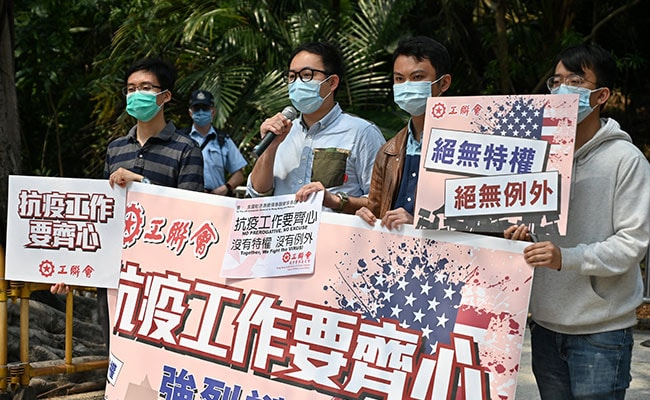 US Denies Hong Kong Envoys With COVID-19 Invoked Diplomatic Immunity