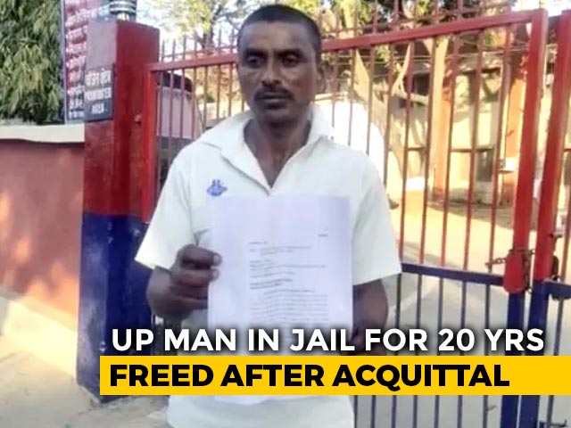 "Video : ""My Body Is Broken..."": UP Man Acquitted Of Rape After 20 Years In Prison"