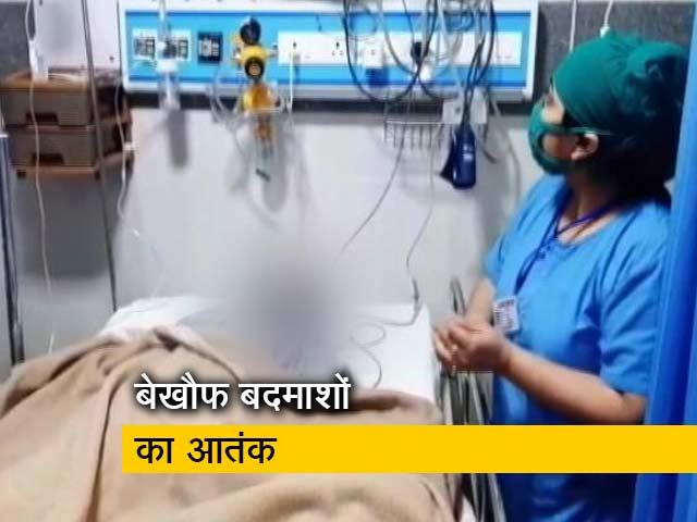 Videos : मेरठ : बाइक सवार बदमाशों ने की अंधाधुंध फायरिंग