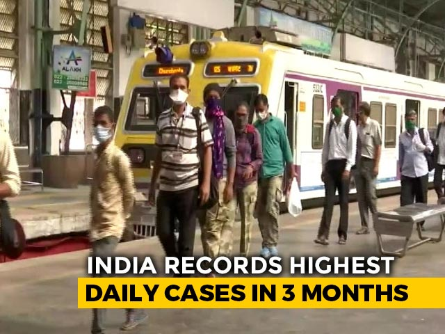 Video : Maharashtra Records 16,620 Covid Cases, Highest Single-Day Rise This Year