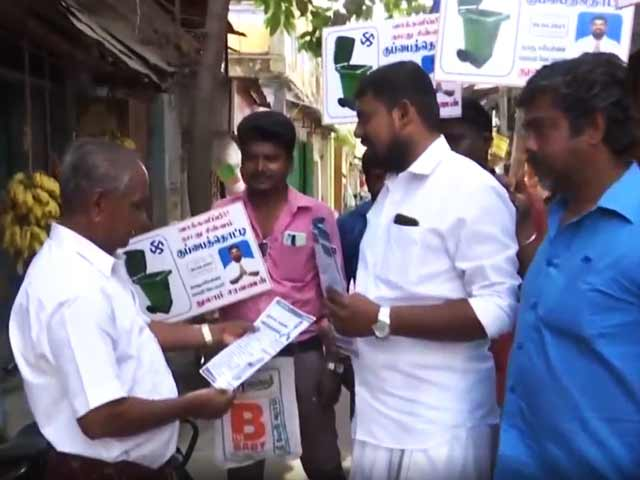 Video : Trip To Moon, Robot For Housework: Tamil Nadu Candidate's Stunning Poll Promises