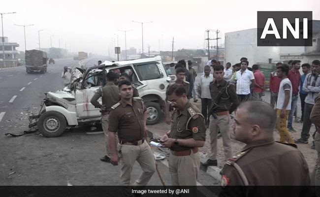 Nine Killed After SUV Collides With Tractor In UP: Police