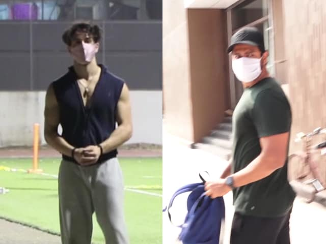 Video : Inside Tiger Shroff And Vicky Kaushal's Fitness Diaries