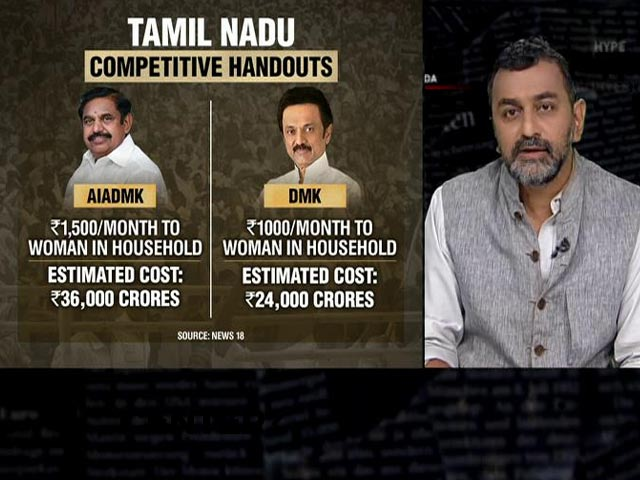 Video : Tamil Nadu: Who Will Pay For Poll Freebies?