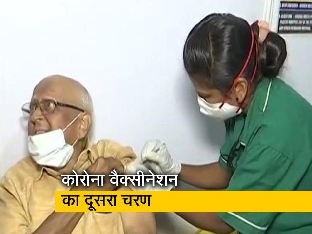 Videos : मुंबई में कोरोना वैक्सीनेशन : कई वरिष्ठ नागरिक वॉक इन पहुंचे
