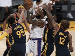 NBA: LeBron James Scores 19 points To Help Los Angeles Lakers Defeat Golden State Warriors