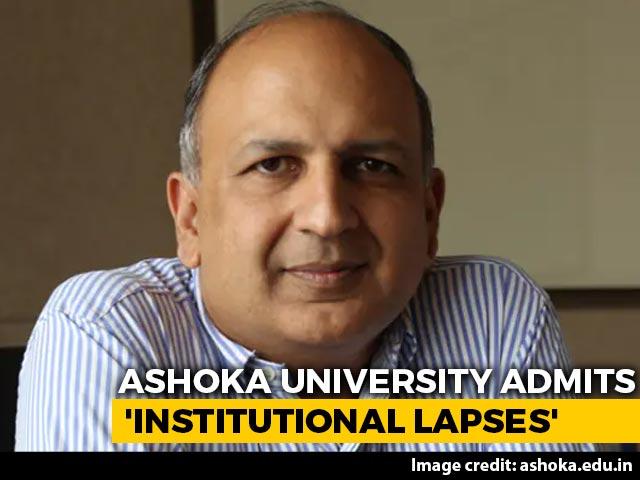 "Video : Ashoka University Admits ""Lapses"" After PB Mehta, Arvind Subramanian Quit"