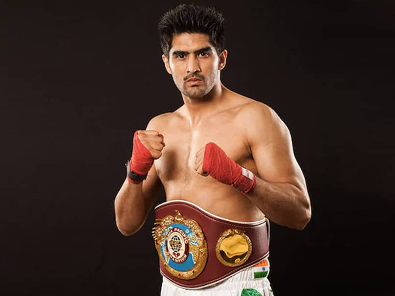 Vijender Singhs Next Pro Bout On Rooftop Deck Of Casino Ship In Goa