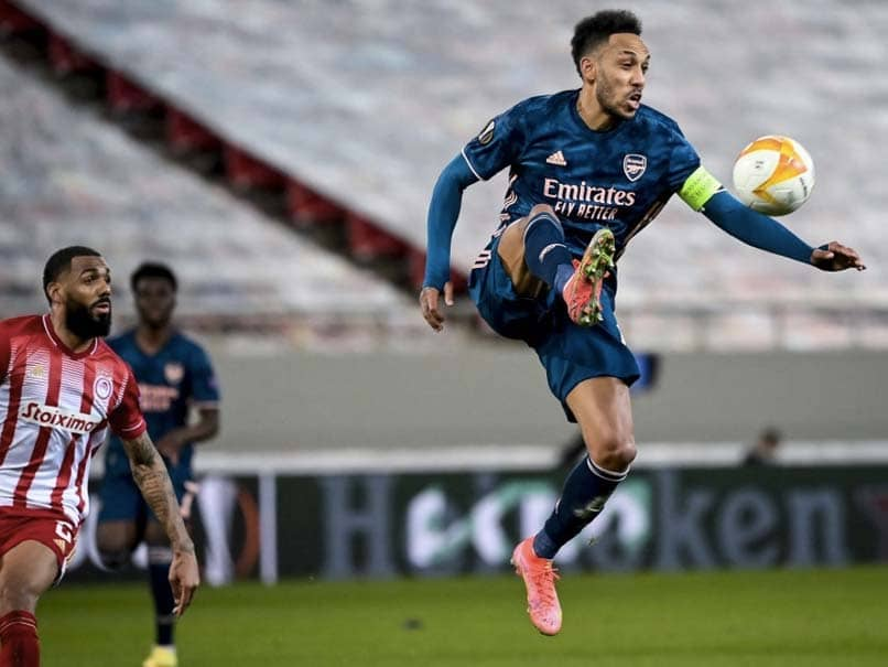 Soccer- Pierre-Emerick Aubameyang