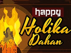 Happy Holi 2021: Holika Dahan Wishes, Messages And Images To Share