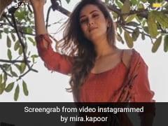 "Mira Rajput Keeps It ""Rust-ic"" As She Breezes Through In A Summer Dress"